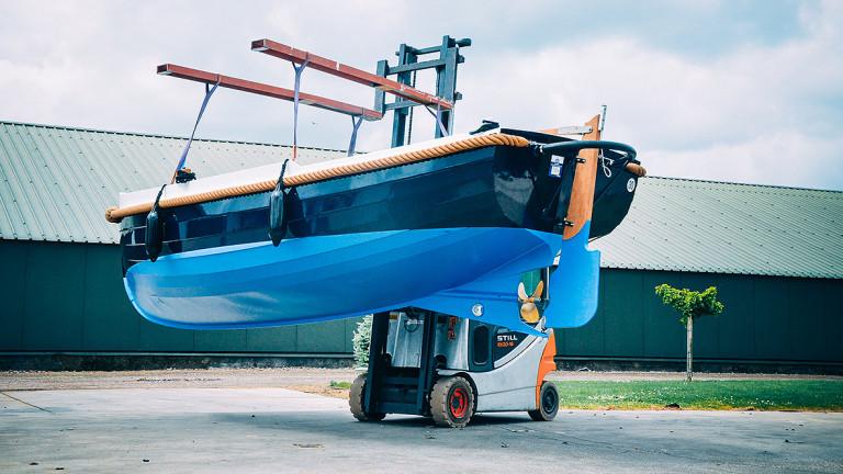 Nieuwe boot