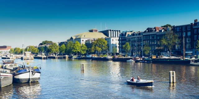 Boat / Sloep Amstel