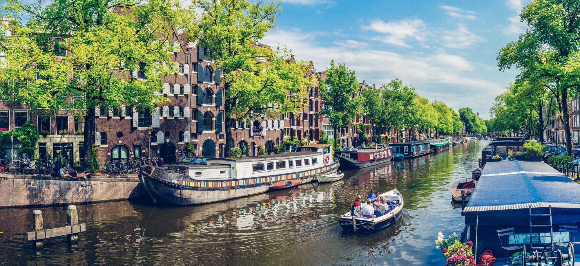 Sloep / Boat Brouwersgracht