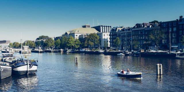 Sloep / Boat Amstel