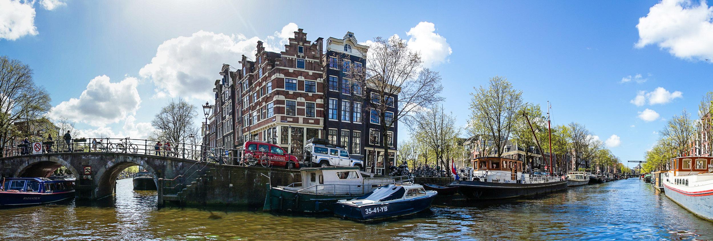 Brouwersgracht prinseneiland Amsterdam varen huren