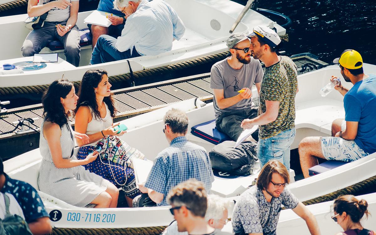 bedrijfsuitje boot varen teambuilding